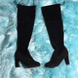 Shoes - Faux suede over the knee size 6